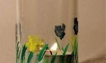 Eşit bir cam kavanoz veya biberon nasıl kesilir