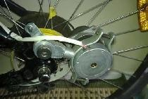 Stepper Motor Bike Generator