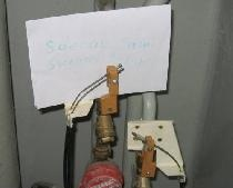 Mekanisk system til at forhindre vandlækage