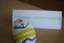 Ouă de Paște cu papiță-mâché