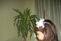 Küçük Prenses için saç tokası