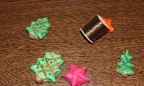Ghirlanda de Crăciun cu aluat sărat