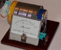 Detector de radiații simple