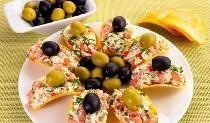 Ορεκτικό σε ορεκτικά με τυριά και σκόρδο