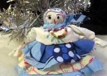 Κούκλα χιονιού Snow Maiden