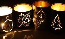 Pomysły na świeczniki