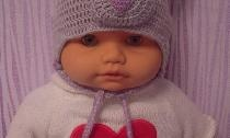 Chapéus - animais para bebês
