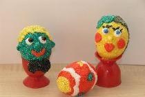 Великденски яйца от ... пластилин