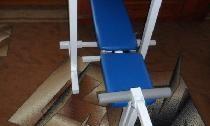 Универсална пейка със стелажи