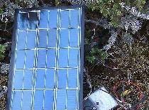 Baterie solară de diode și tranzistoare
