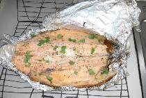Pește copt