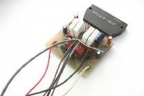 Amplificator de pe STK402-020 ... STK402-120