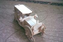 Model de masina placaj