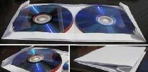 Koperta na 4 dyski CD z kartki papieru