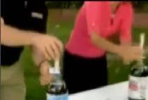 Coca-cola și mentoane