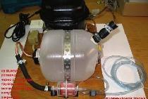 Como posso usar o compressor da geladeira como aerógrafo