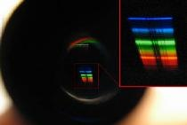 Beugungsspektroskop