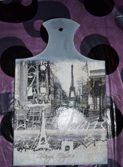Pranchas de decoupage com Paris
