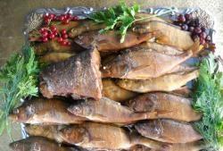 Ryba wędzona na gorąco z nadzieniem