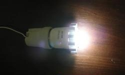 Εκσυγχρονισμός των λαμπτήρων εξοικονόμησης ενέργειας στο LED αριθ. 1