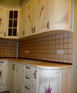 Vẽ mặt tiền nhà bếp
