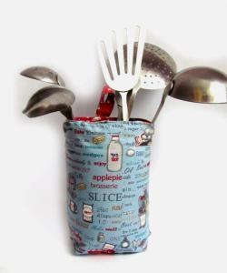 Mutfak eşyaları için tekstil kap