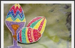 Easter Eggs - Eggshell Mosaic