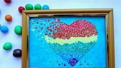 """Mozaic """"Inimă ruptă"""""""