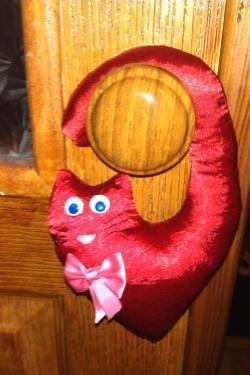 Jucărie moale în formă de inimă