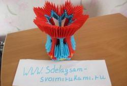Wazon modułowy Origami