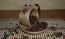 Ceașcă de cafea de aur