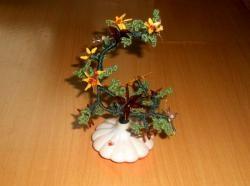 Układanie kwiatów lakieru do paznokci