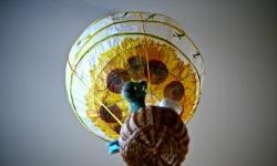 Balão de lanterna de papel