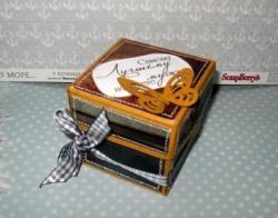 Mini caixa de presente para homem