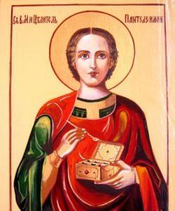Bậc thầy - biểu tượng của lớp Saint Healer Panteleimon