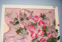 Kunstige blomstermalerier