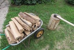 How to chop wood - professional advice