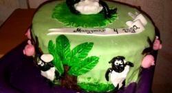 ทำเค้กเด็ก