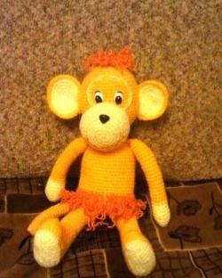 Maimuță de croșetat