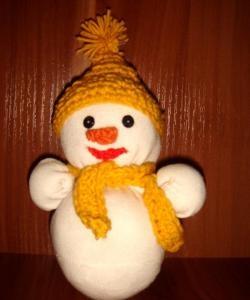 Чорап за снежен човек