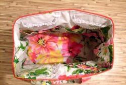 Organizatoriaus krepšys adatos savininkei