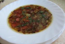 Supa de mezeluri rapide