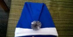 Новогодишна шапка от руно