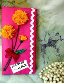 """Gift wrapping workshop """"Vintage Dandelion"""""""