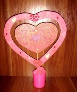 Розови сърца