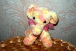 Multi-farvet baby elefant