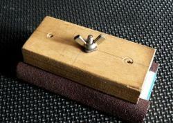 Sandpaper grater