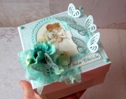 """Składane pudełko """"Happy Wedding Day"""""""