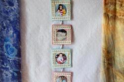 Çocuk fotoğrafları fotoğraf kolajı