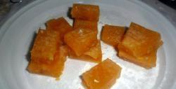 Naminis abrikosų želė saldainis